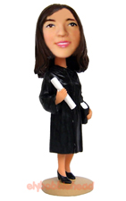 Female Graduation Bobblehead 1