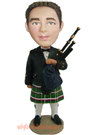 Custom Bag Pipe Custom Bobblehead