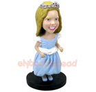 Custom Flower girl Custom Bobble Head
