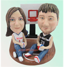 Custom Basketball Couples Bobblehead