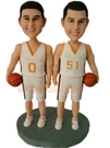 Custom Basketball Lovers Couple Dolls