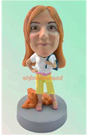 Custom Fashion Lady Custom Bobblehead