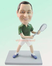 Male Tennis Star Bobblehead Doll