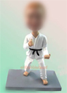 Karate Custom Bobblehead Doll