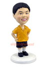 Custom Young Boy In Shorts BobbleHead