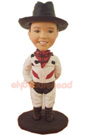Custom Little Cowboy Bobblehead