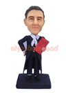 Custom Male Lawyer Custom Bobblehead Doll