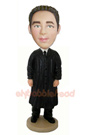 Custom Male Judge Custom Bobblehead