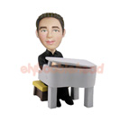 Custom Male Pianist Custom Bobblehead