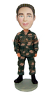 Custom Military Custom Bobblehead Doll