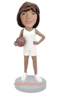 Custom Female Basketball Bobblehead