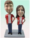 Custom Lovers Bobblehead