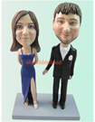Custom Formal dress Couple Bobblehead