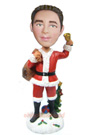 Custom Christmas Male Bobblehead