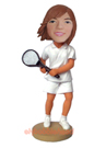 Female Tennis Player Bobblehead