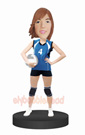 Volleyball Bobble Head Doll