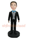 Custom Businessman Custom Bobblehead Doll-1