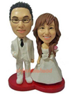 Custom Wedding Couple Custom Bobblehead-1