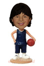 Custom Young Basketball Star Bobblehead