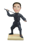 Ninja Custom Bobblehead Doll