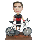 Bycicle Rider Custom Bobblehead