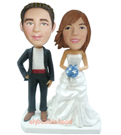 Custom Wedding Couple Bobblehead