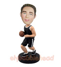 Custom Dribbling Basketball Player Bobblehead