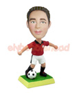 Custom Soccer Player Custom Bobblehead 2