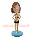 Custom Woman In Stylish Bathing Suit Custom Bobblehead