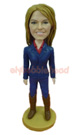 Custom Cowgirl Bobble Head Doll