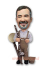 Custom Fisherman Custom Bobblehead
