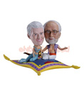 Custom Flying Carpet Couple Custom Bobblehead