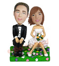 Custom love-story Couple Bobblehead