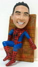Custom Spider Man Bobble Head Doll 1